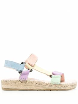 Manebi colour-block slingback sandals G21JH