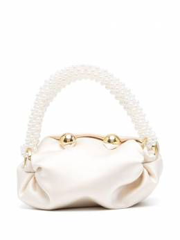 0711 Nino beaded-pearl tiny tote bag 0711SS2111