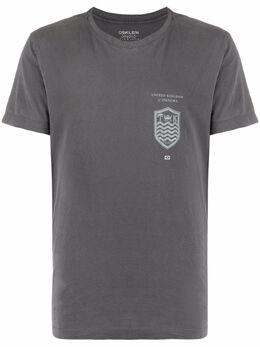 Osklen футболка с принтом 64423