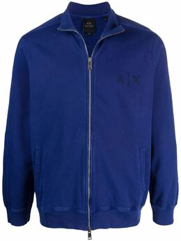Armani Exchange свитер на молнии с логотипом 3KZMALZJX1Z