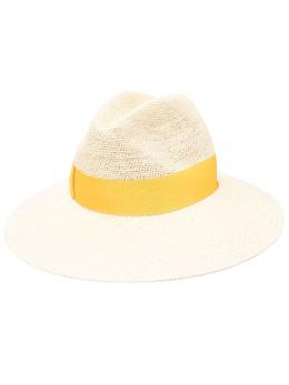 Borsalino шляпа-федора с лентой 0232160