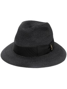 Borsalino шляпа-федора с лентой 1410787111