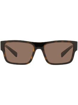 Dolce&Gabbana Eyewear солнцезащитные очки Step Injection в прямоугольной оправе VG6149VN673