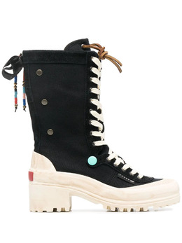Superga ботинки на платформе 6115GW2568005
