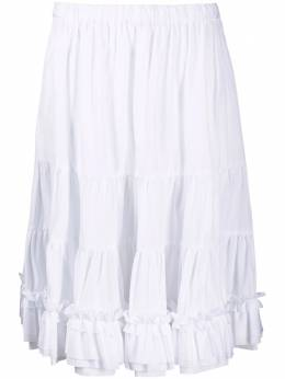 Comme Des Garcons Girl юбка со сборками NGS010