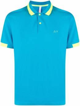 Sun 68 рубашка поло с вышивкой A31119