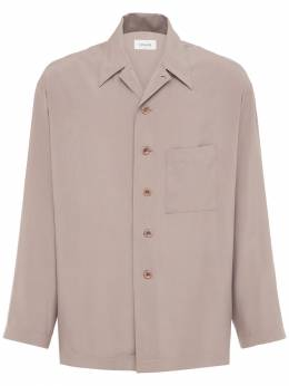 Шёлковая Пижамная Рубашка Lemaire 74IM80007-MzAz0