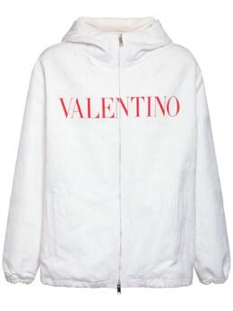 Куртка На Молнии С Капюшоном Valentino 74IH0Y016-TTUz0
