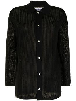 Coohem трикотажная рубашка на пуговицах 15212005