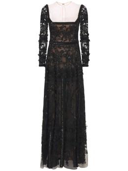 Длинное Платье Passiflora Zuhair Murad 73ICCQ011-MTkwMDAw0
