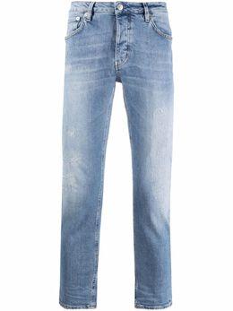 Haikure укороченные джинсы с эффектом потертости HEM03164DS059