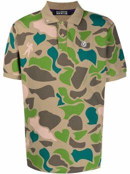 Billionaire Boys Club рубашка поло с камуфляжным принтом B21118
