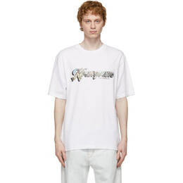 Noon Goons White Postcard T-Shirt NGSP21039
