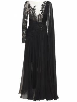 Длинное Платье Из Шифона Zuhair Murad 73ICCQ002-MTkwMDAw0