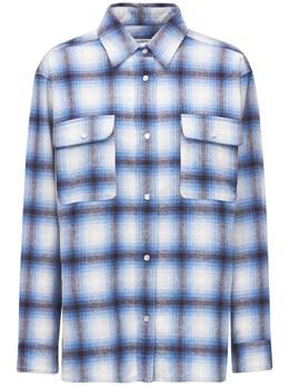 Полушерстяная Рубашка Marcelia Isabel Marant Etoile 74IE1B034-MzBCVQ2