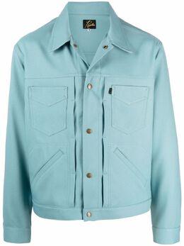 Needles куртка-рубашка с карманами IN143