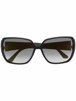 Jimmy Choo Eyewear солнцезащитные очки Cloes в массивной оправе CLOES