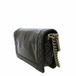 Chanel Black Patent Leather Boy Crossbody Bag 410491
