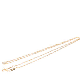 Tiffany & Co. 18K Rose Gold Gold Else Peretti Diamond By The Yard Pendant Necklace 403625