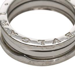 Bvlgari B.Zero1 18K White Gold Ring Size EU 53 369473