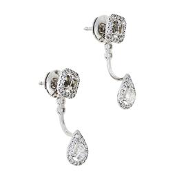 Messika My Twin Toi & Moi Diamond 18K White Gold Earrings 424934