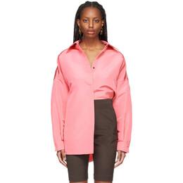 Valentino Pink Faille Over Shirt VB0CI0K56DE