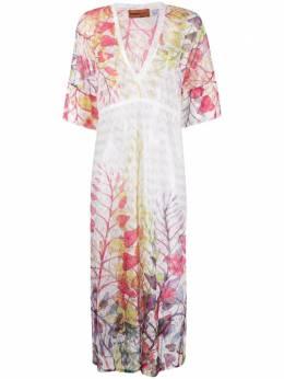Missoni Mare платье с цветочным принтом MMQ00237BR00E7