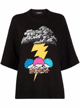 Undercover футболка Thunderstorm с графичным принтом UC1A1893