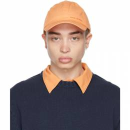 Acne Studios Orange Logo Baseball Cap C40145-