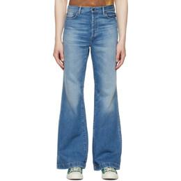 Acne Studios Blue Bootcut Jeans B00213-