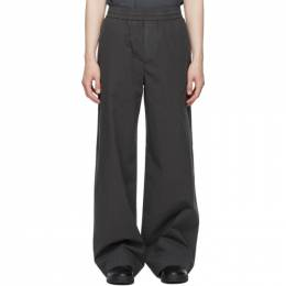 Acne Studios Grey Fluid Trousers BK0380-