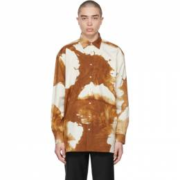 Acne Studios Brown Oversized Shirt BB0349-