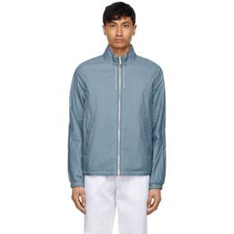 Ermenegildo Zegna Reversible Blue Breeze Breaker Jacket UWT15-W138B