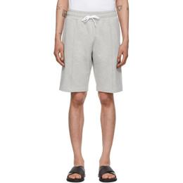Ermenegildo Zegna Grey Cotton Shorts N6N10 109