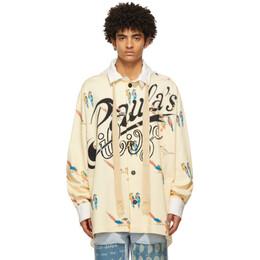 Loewe Yellow Paulas Ibiza Parrot Hoodie Jacket H616Y52X01