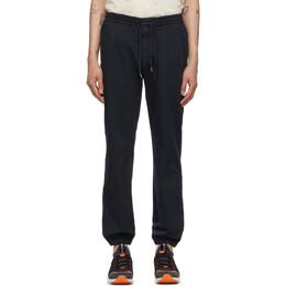 Z Zegna Navy Cotton Jogger Lounge Pants VW115-ZZ346