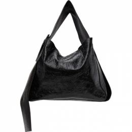 Acne Studios Black Patent Bucket Bag A10145-