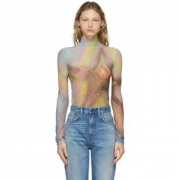 Acne Studios Multicolor Ben Quinn Edition Mesh Turtleneck AL0204-