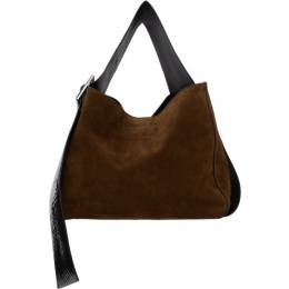 Acne Studios Brown Suede Bucket Bag A10144-