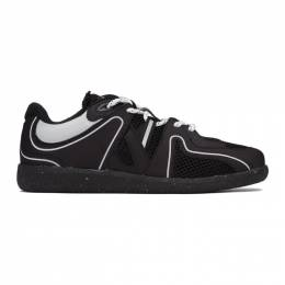 Ganni Black Sporty Mix Retro Sneakers S1530