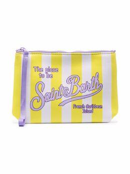 Mc2 Saint Barth Kids сумка в полоску на молнии ALIN001