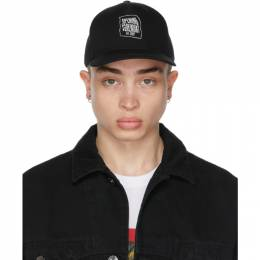 Opening Ceremony Black Warped Logo Cap YMLB004S21FAB0011101