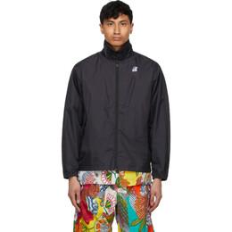 Engineered Garments Black K-Way Edition Packable Crepin 3.0 Jacket K81184W USY