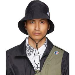 Engineered Garments Black K-Way Edition Pascalen 3.0 Bucket Hat K61164W USY