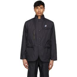 Engineered Garments Black K-Way Edition Packable Blase 3.0 Blazer K41114W USY