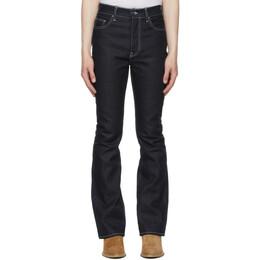 Amiri Indigo Flare Leg Jeans MDF001-402