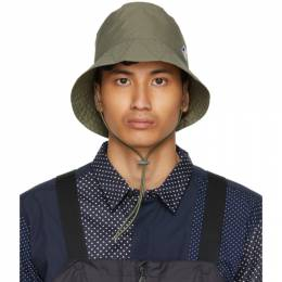 Engineered Garments Khaki K-Way Edition Pascalen 3.0 Bucket Hat K61164W X7Q