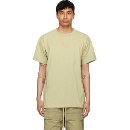 Fear Of God Green FG T-Shirt FG50-025CTJ