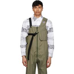 Engineered Garments Khaki K-Way Edition Kayden 3.0 Vest Bag K1121BW X7Q
