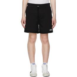 Amiri Black Core Logo Shorts MJSS001-001